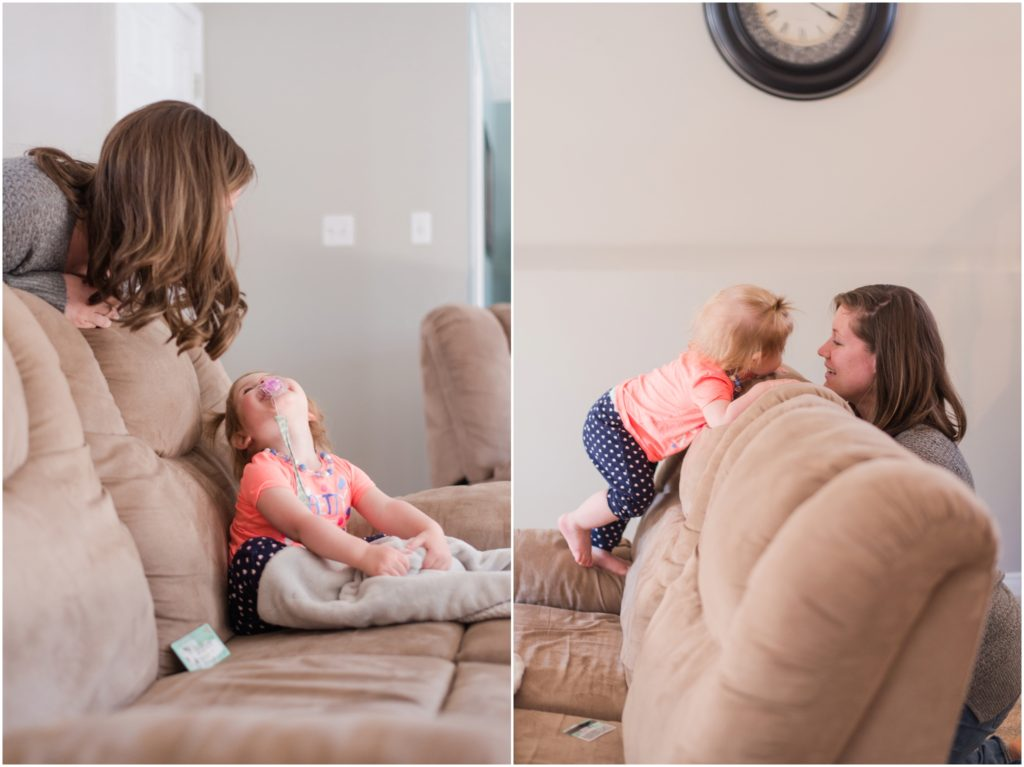 lifestyle mother daughter session